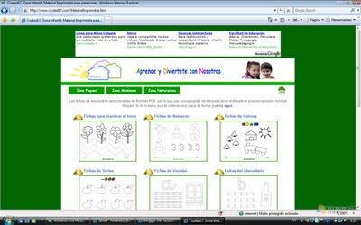 Para imprimir. Educacion Infantil. eloviparo