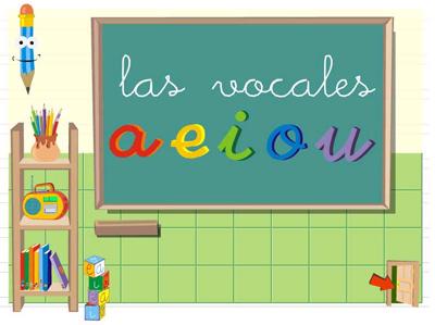 Las vocales. Educacion infantil