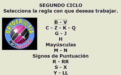 ortografía Edicinco