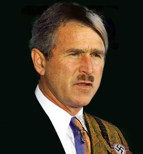 George Bush FTW xD Bush-hitler