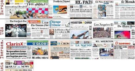 Periódicos del mundo