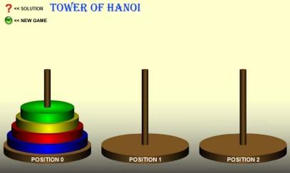 Torres de Hanoi