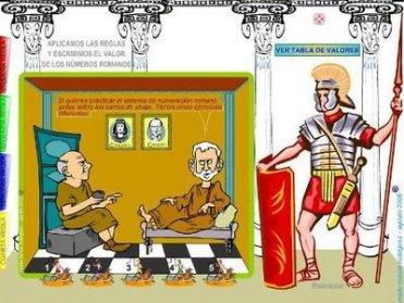 HISTORIA DE LOS NUMEROS ROMANOS. eloviparo