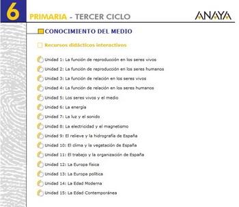 C Medio 6 Anaya