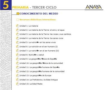 CMedio 5 Anaya