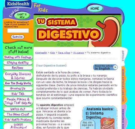 tu sistema digestivo