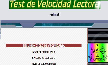 velocidad lectora 2 ESO