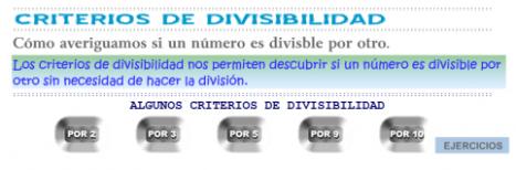 criterios divisibilidad