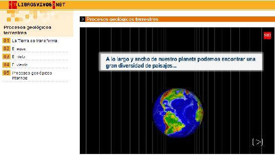 Procesos geologicos terrestres