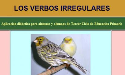 Los verbos y su conjugacion. eloviparo